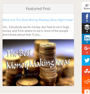 featured post widget on blogger