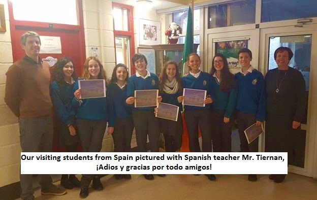 Visiting Spanish Students