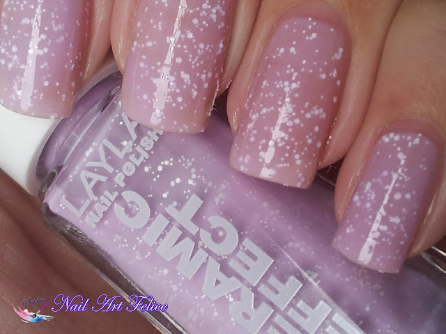 CE103 Soft Fruits - Ceramic Sorbet Effect Layla - Swatch03 - Nail Art Felice