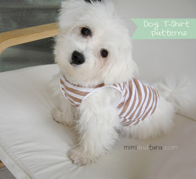 dog T-shirt patterns