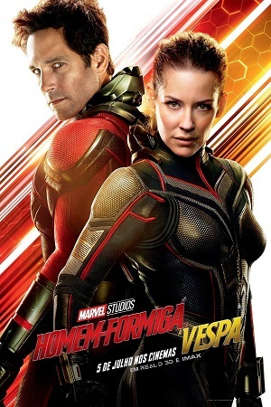 Ant-Man and the Wasp - Legendado 2018 Torrent torrent download capa