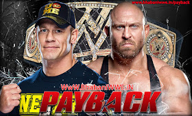 » John Cena vs. Ryback (WWE Championship - 3 Stages Of Hell Match