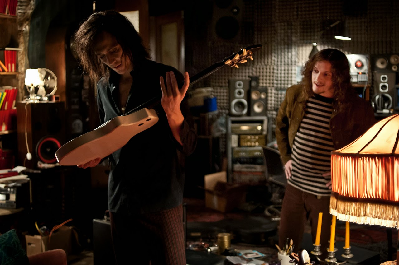 Tom Hiddleston and Anton Yelchin in Only Lovers Left Alive