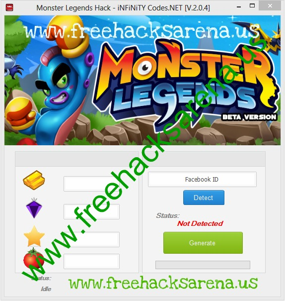 Monster Legends Hack No Survey