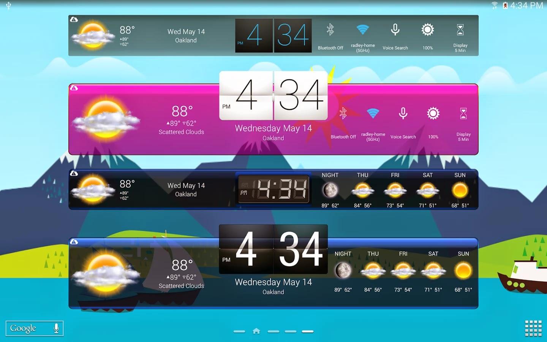 HD Widget para Android