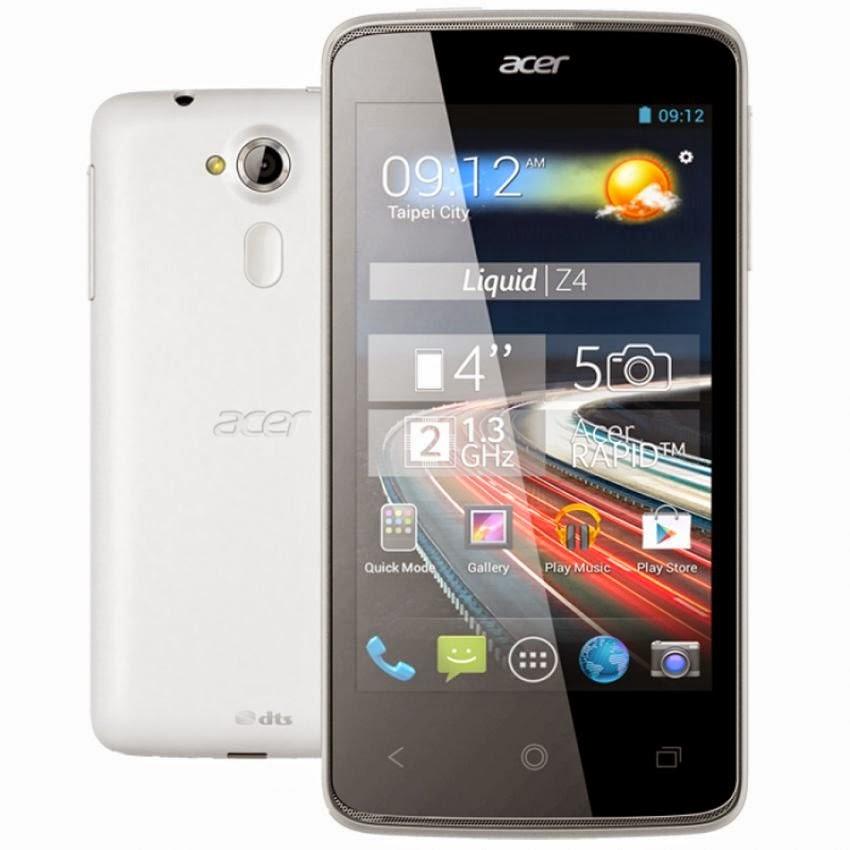 Spesifikasi Dan Harga Acer Z160 Liquid Z4 Duo - 4 GB