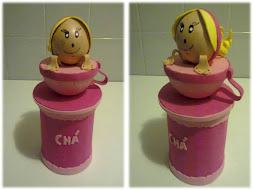 Caixa de Chá EVA