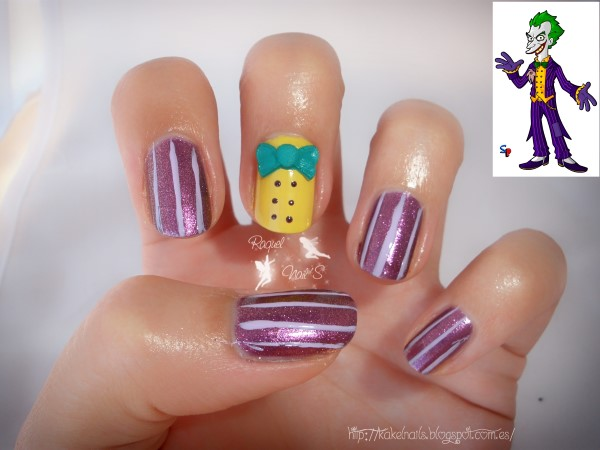 Joker nailart