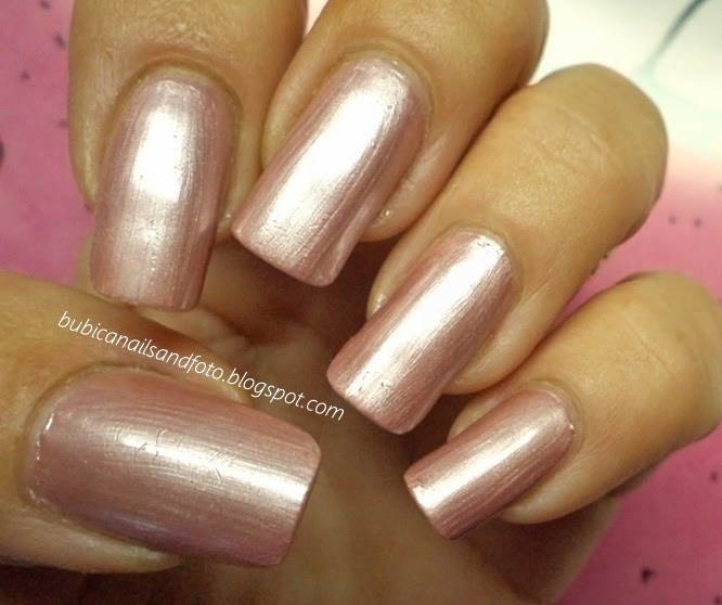 1424 Golden Rose Color Expert No33 Light Pink Chrome Nail Polish