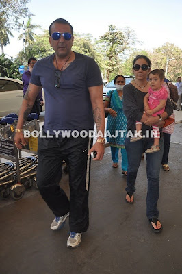 Sanjay Dutt's Family Photos