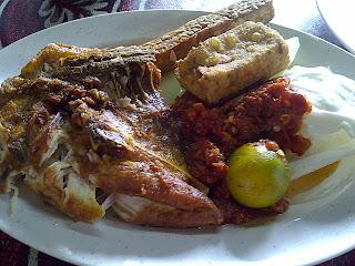 Restoran ZZ Sup Tulang : Ayam Penyet