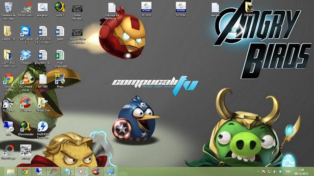 Imágenes Temas para Windows 7 de juegos