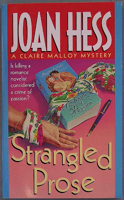 cover of Strangled Prose by Joan Hess