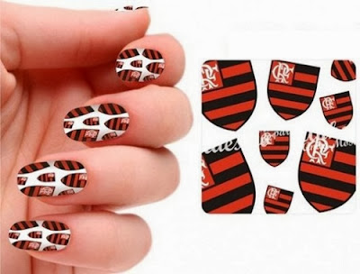 Unhas Decoradas do Flamengo