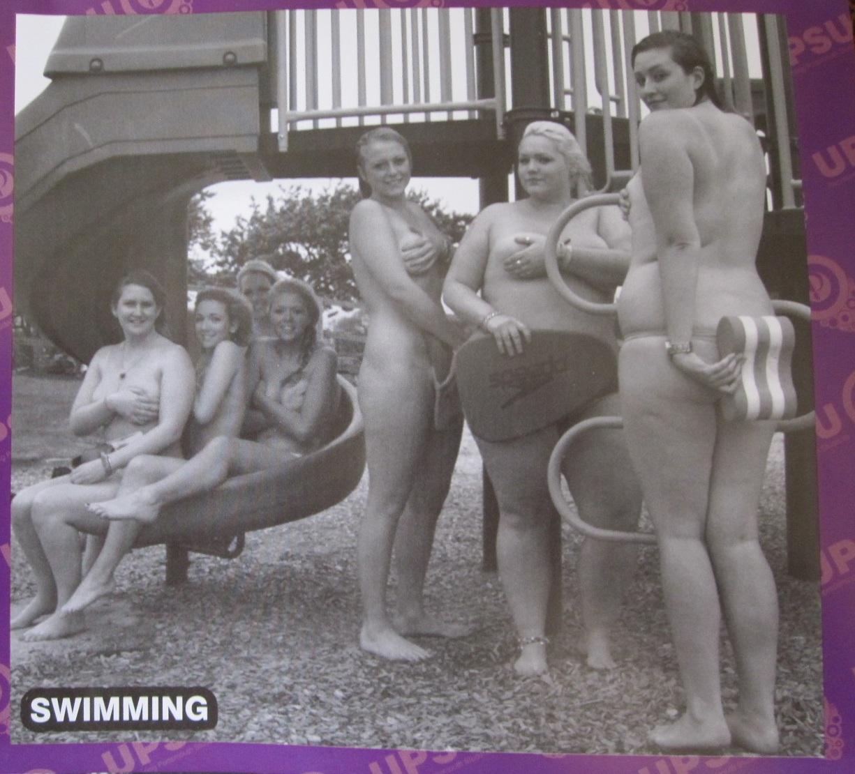 Portsmouth university naked calender