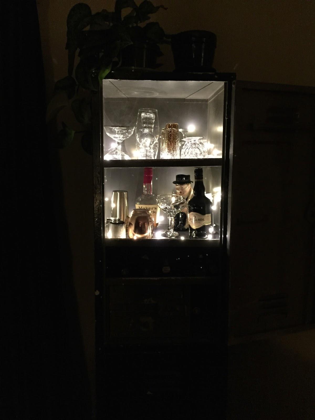 Liquor Locker Lighting; The Shimmer