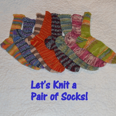 let's knit a pair of socks