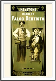 Falso dentista (1914) | Cartel | Caratula - Cine clásico Chaplin (Charlot)