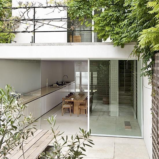 Modern Kitchen Extensions: New Home Interior Design: Modern Kitchen Extensions