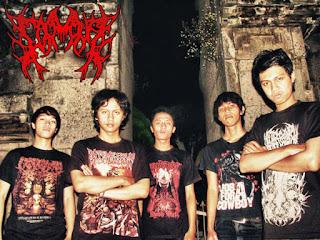 corona band brutal death bandung indonesia