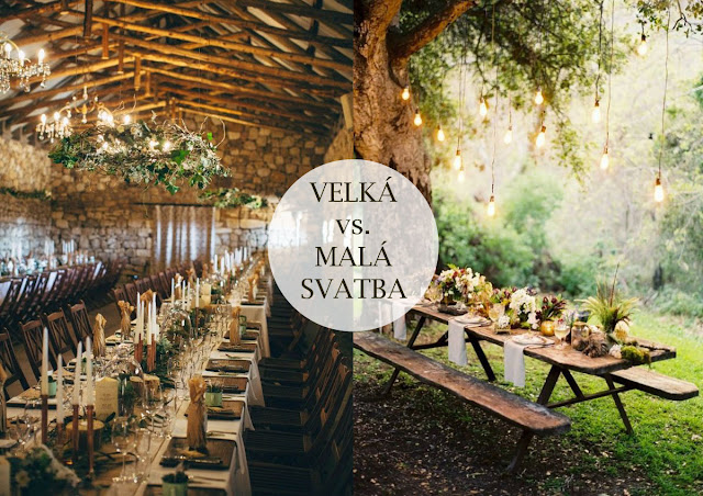 svatba uvnitř nebo venku