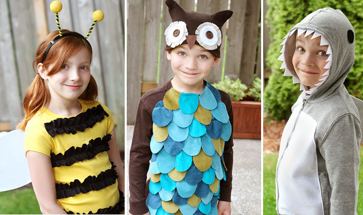 Easy Halloween Costumes DIY Costumes - Cool Simple Halloween Costumes
