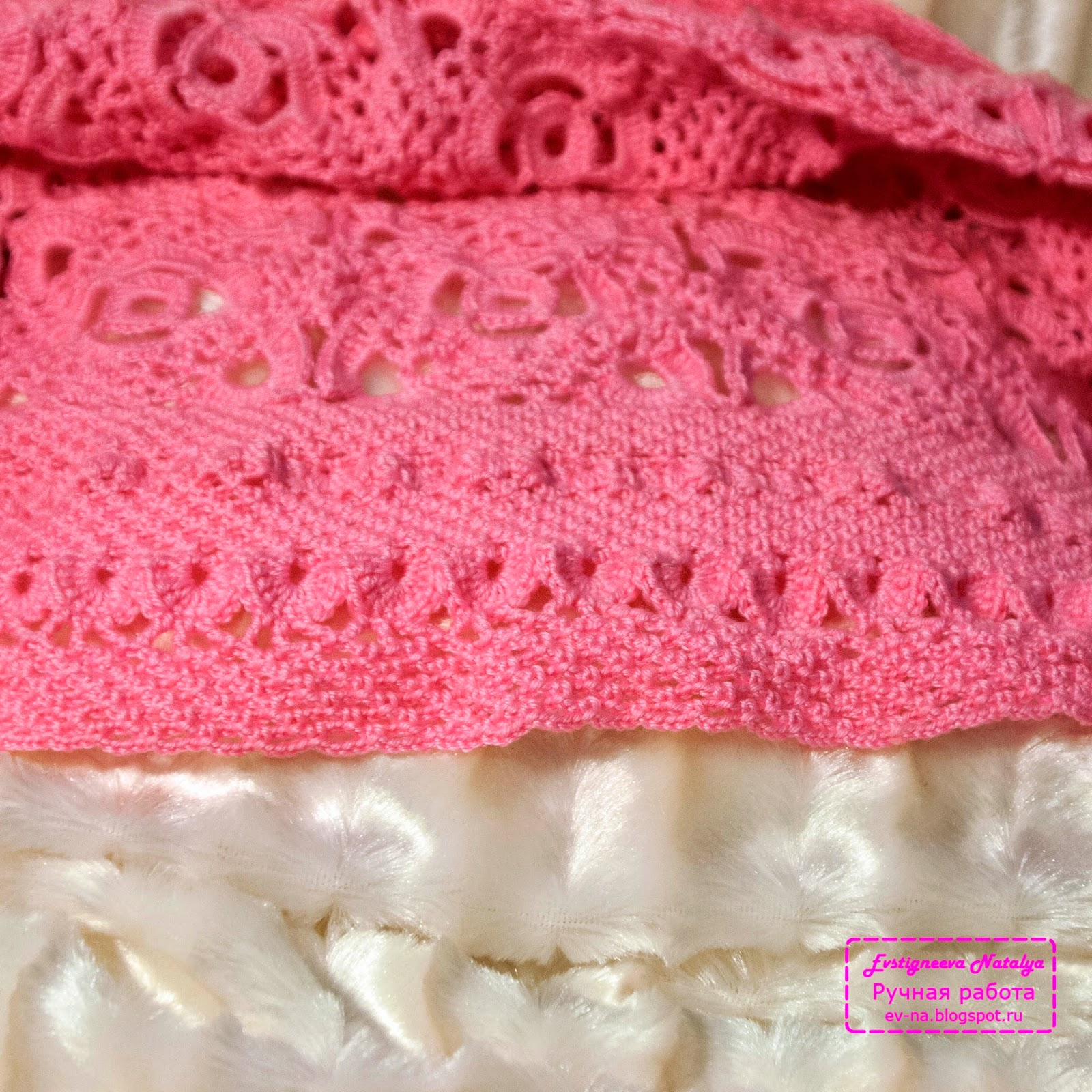 Красивое вязание крючком для девочек 3 лет