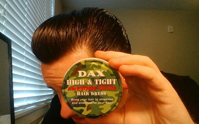 Pomade Dax High and Tight Awesome Shine Review