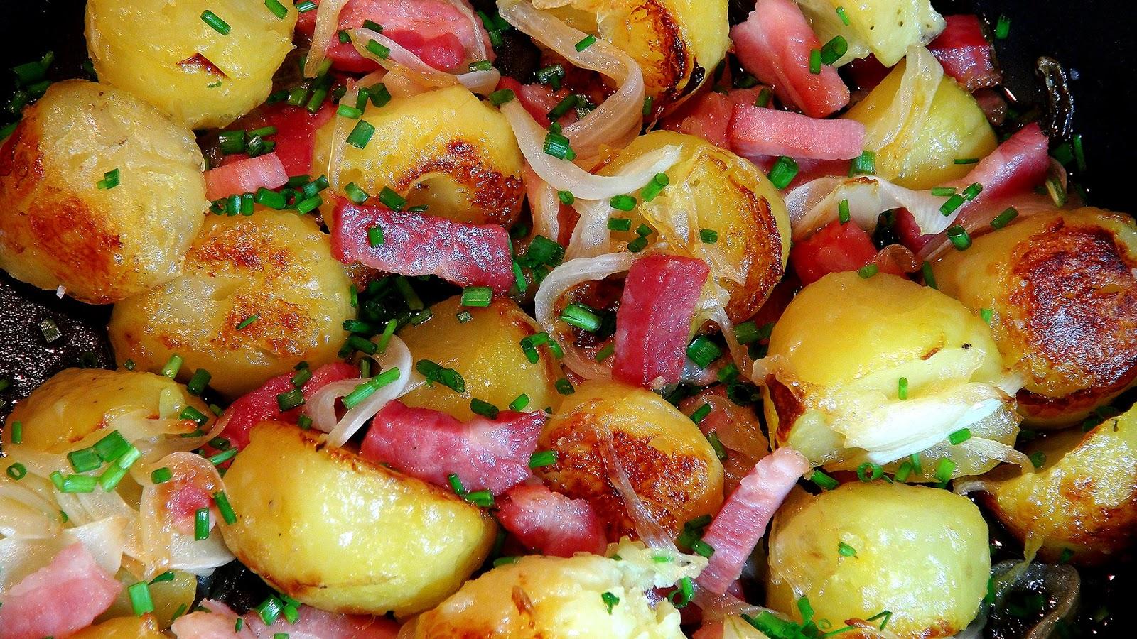 Cocinar para los amigos patatas asadas con bacon for Cocinando para los amigos