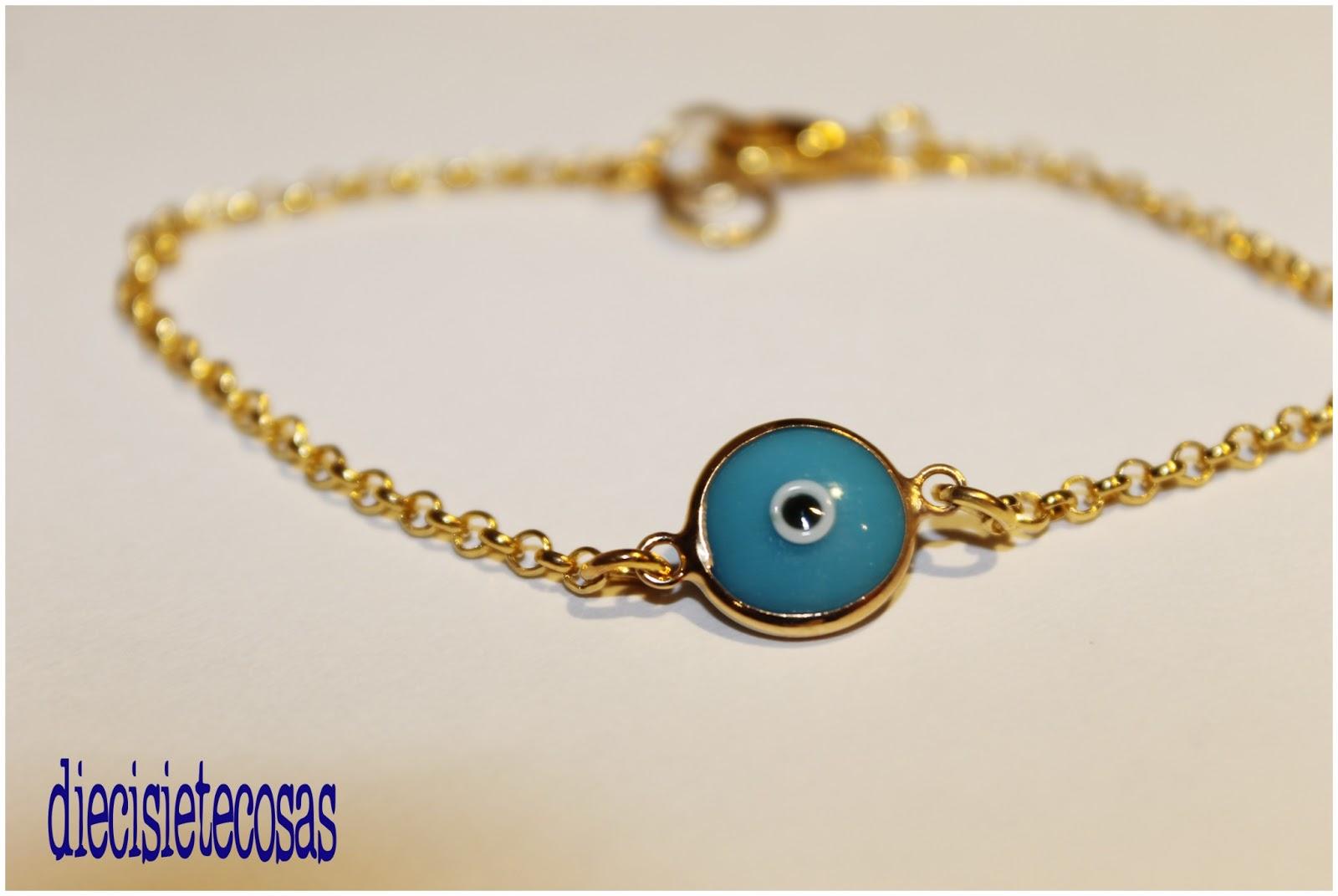 Pulseras ojo turco mal de ojo  buena suerte , diecisietecosas comprar pulseras y accesorios bisutería online