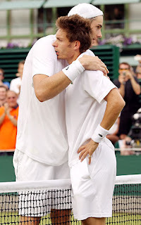 Isner and Mahut after 11 hours of tennis