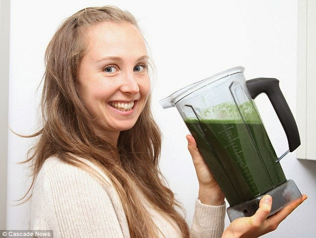 29-Year-old Woman's Secret to Looking Young? Eating Only Raw Vegetables