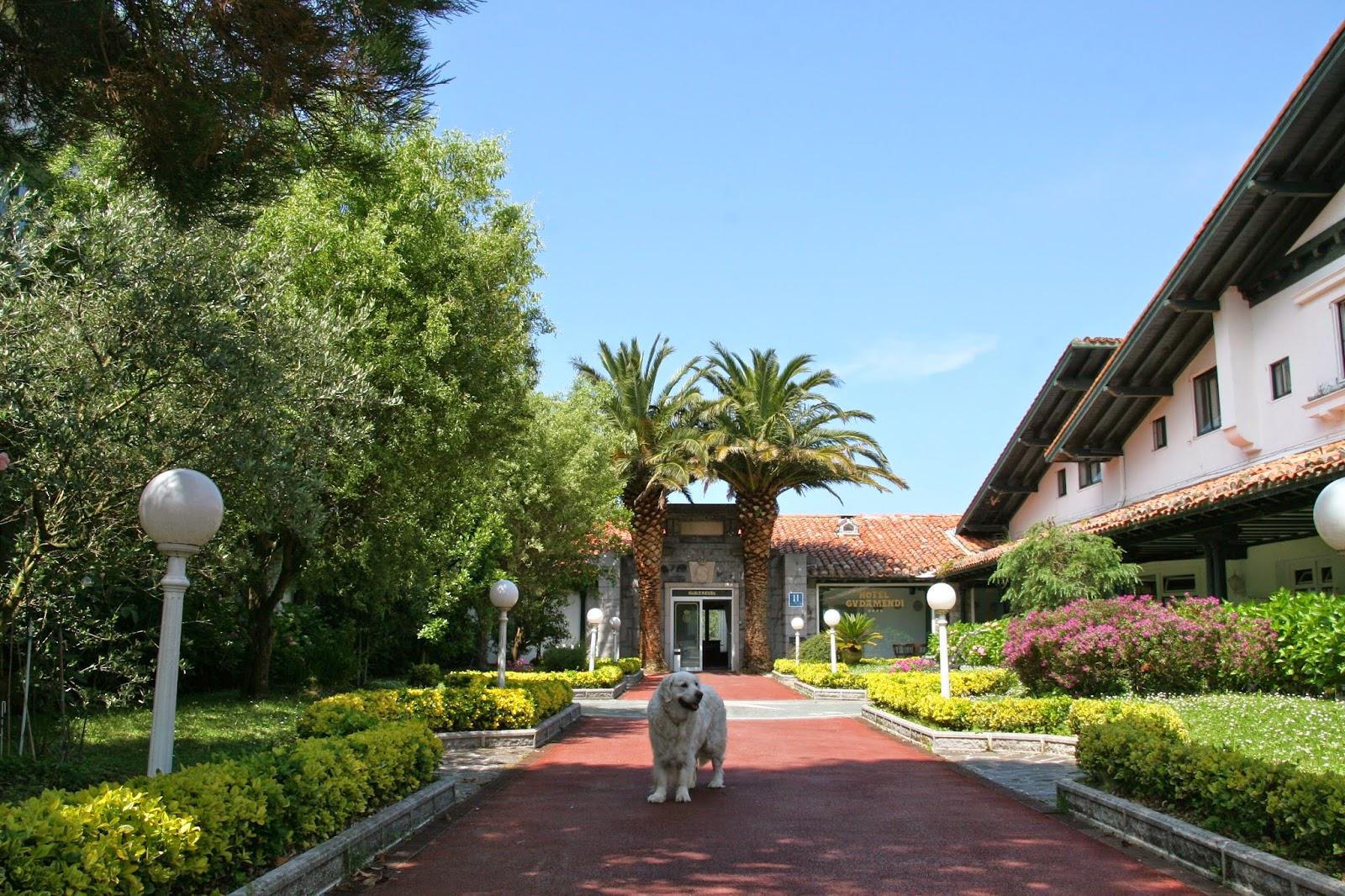 Hotel gudamendi igueldo san sebasti n viajes con mi perro for Hoteles con piscina en san sebastian