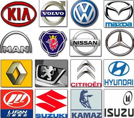 Velocidad del vehículo: Marcas de autos del mundo
