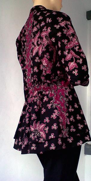 gambar model baju batik untuk kerja