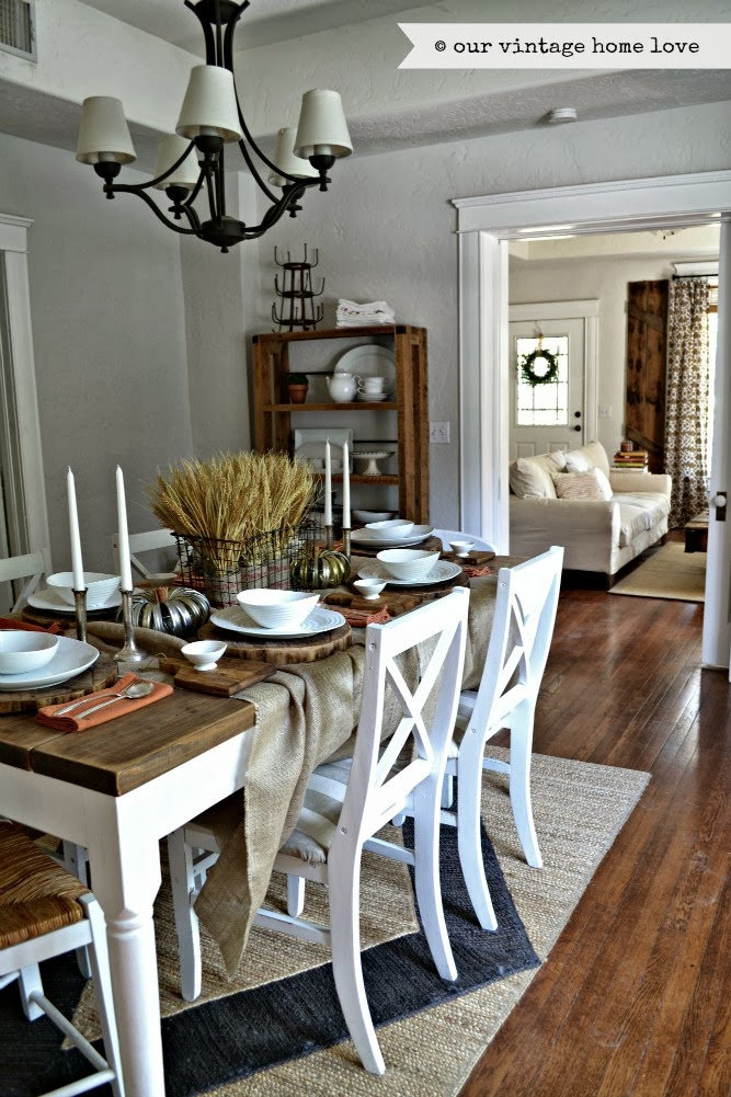 vintage home love: Fall Dining Room
