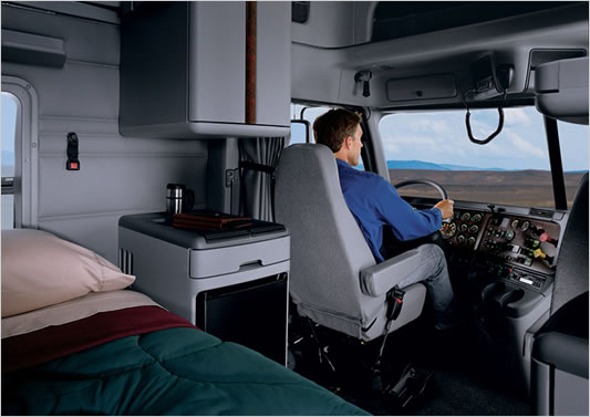 comfort and productivity The new interior enhancements include