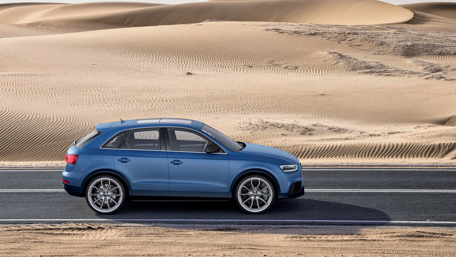 Wallpaper Mobil Mewah Audi Quattro