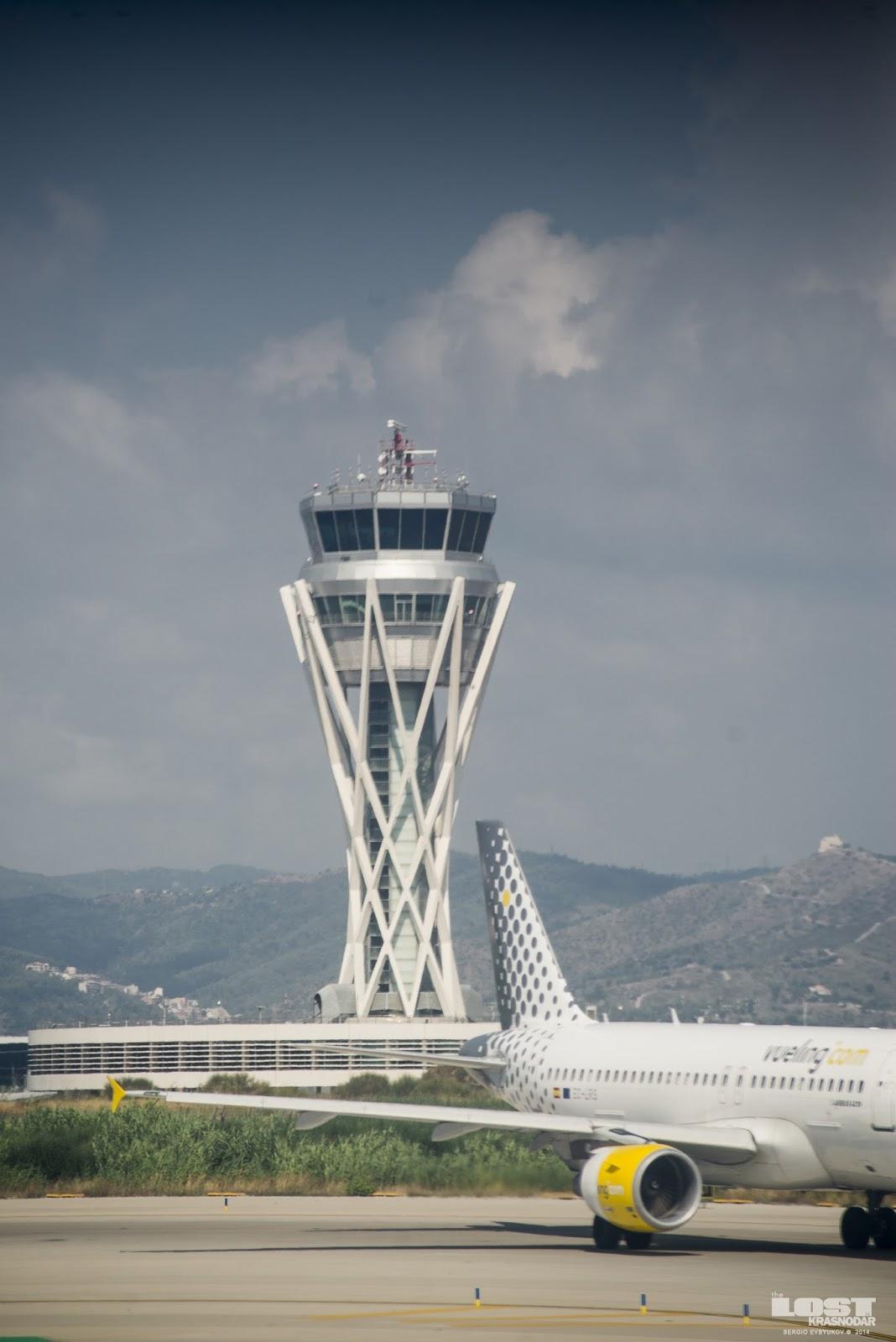 Аэропорт барселоны вылет