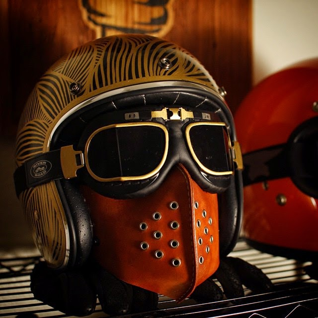 Cafe Racer Face Mask