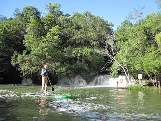 Passeio de Stand Up no Rio Formoso em Bonito, Mato Grosso do Sul