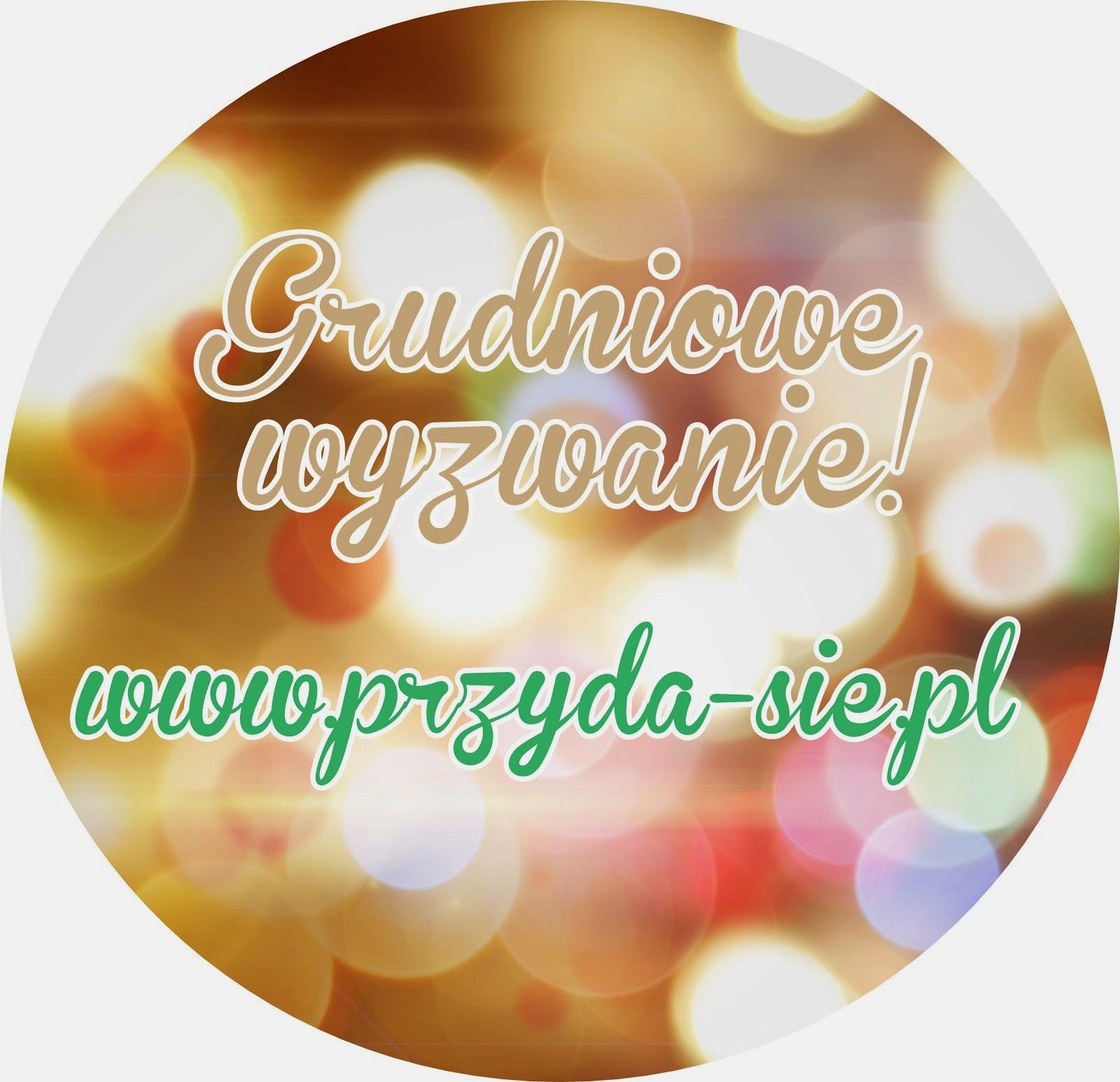 http://blogprzyda-sie.blogspot.com/2014/12/grudniowe-wyzwanie.html