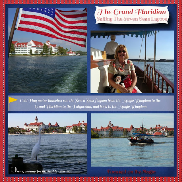 Motor Launch to the Grand Floridian