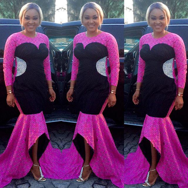 Mercy Aigbe Fashion.