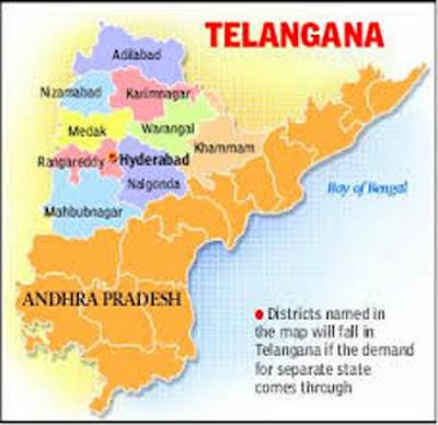 Redrawing Telangana