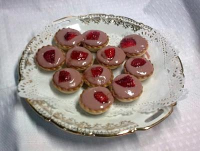 Tartaletas Veganas con Crema de Fresas