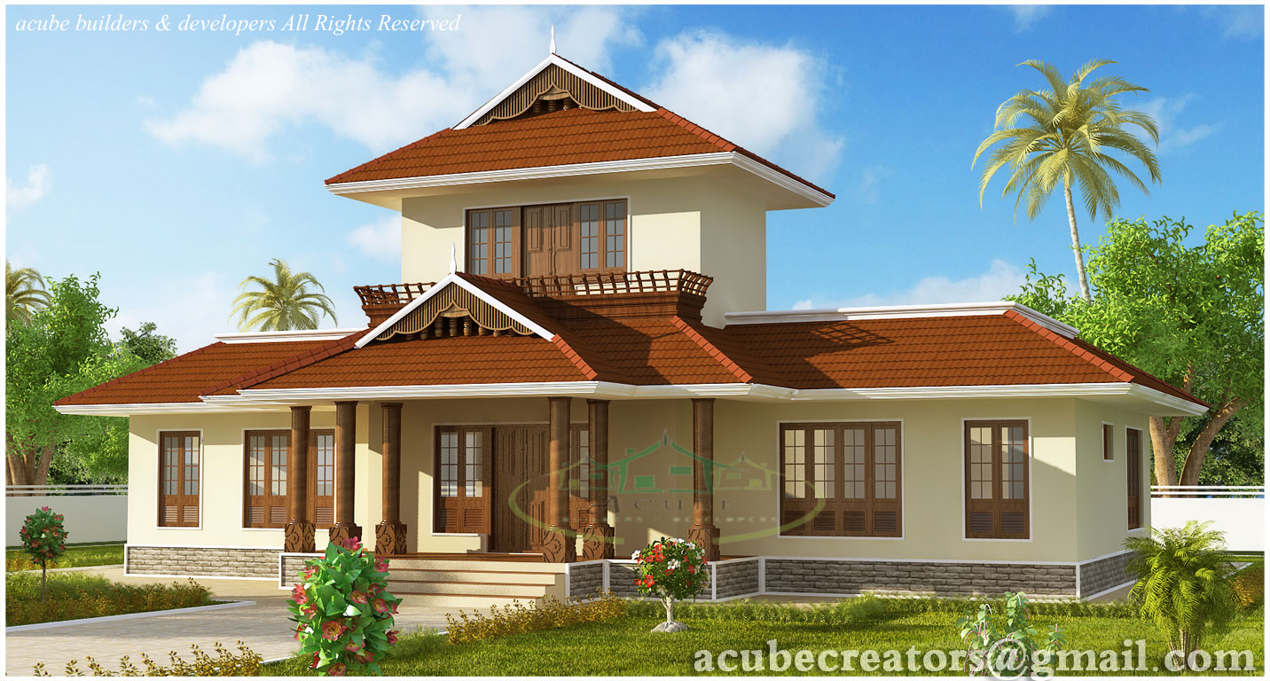 Awesome 3 bhk kerala home elevation 1947 sq ft plan for 4 bhk house plans kerala