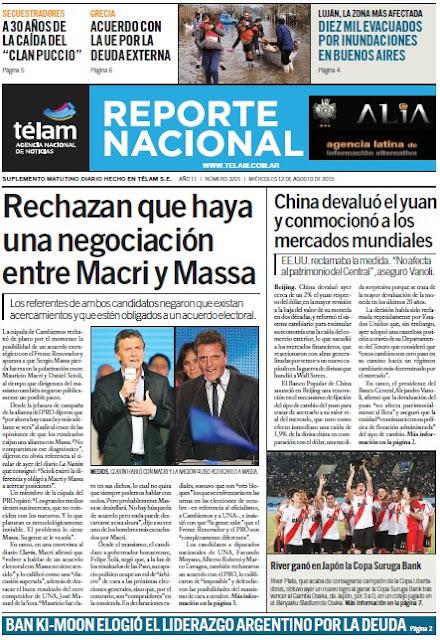 """""""El Diario de Hoy"""" 12/08/2015"""
