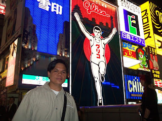 Osaka Japan Dotonbori Running Glico Man