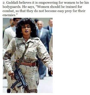 muammar algaddafi female bodyguards 02 Foto foto 40 Perawan Pengawal Pribadi Muammar Qadhafi